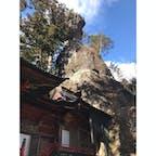 毎年お世話になってます。 岩どうなってるんだろうか #群馬県 #榛名神社