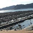 鬼の洗濯板👹 宮崎の青島に向かう海岸にあります。 隆起した地層が波に侵食されてできたとのこと🌊
