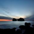 和歌山白浜の円月島