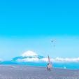 天気も良くて最高の景色だった😊 #静岡 #三保の松原 #富士山