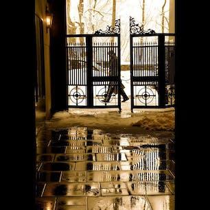 New York/Central Park South  雪の日のセントラルパーク近くの光景。 #newyorkcity #centralpark ##newyorksnow