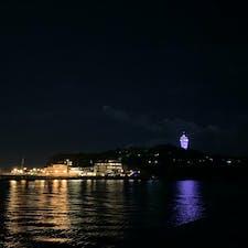 #江ノ島 #江ノ島タワー #鎌倉 #神奈川 #夜景 #海 #港 #ライトアップ