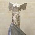 サモトラケのニケ ギリシア語で勝利(NIKE) ナイキの社名の由来らしい… カッコ良すぎる #ルーブル