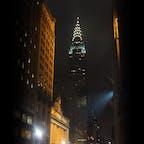 New York/Midtown Manhattan Chrysler Building  マンハッタンの夜景の象徴、クライスラービルディングとグランドセントラルターミナルが美しい!ニューヨーク五番街からの眺め。 #grandcentralterminal #chryslerbuilding #nycgo #what_i_saw_in_nyc #nycity #travelnyc