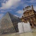 ルーブル美術館 #パリ #ルーブル美術館