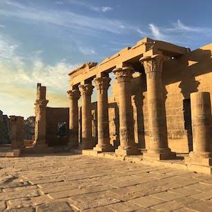 エジプト。フィラエ神殿。