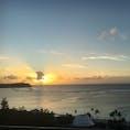 タモン湾の夕日♡