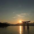 宮島のゆうやけぇぇぇ  #宮島#厳島神社