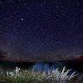 どこの写真か忘れてしまいました。 満天の星空です。