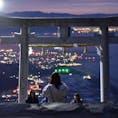 天空の鳥居  香川の山の上の上の上。  #香川#高屋神社#天空の鳥居