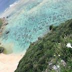 果報バンタ🌊 今回の沖縄🌺は晴天☀️☀️☀️