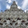 タイ:バンコク  ワットアルン✨金ピカより素敵でした✨